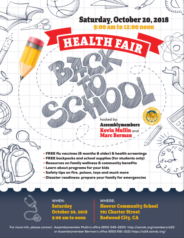 Back to School Health & Safety Fair