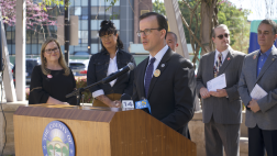 Assemblymember Marc Berman speaking at 2020 Census press conference