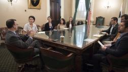 Assemblymember Berman hosts Stanford University Students at the Capitol