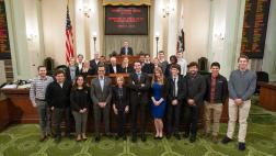 Berman Welcomes Stanford Public Policy Students to the Capitol