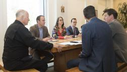 The Legislative Jewish Caucus Meets With Governor Brown