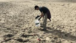 Berman Joins Coastal Cleanup Day Effort at Tunitas Creek Beach