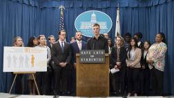Berman and Students Promote Safe Lot Legislation for Homeless Students